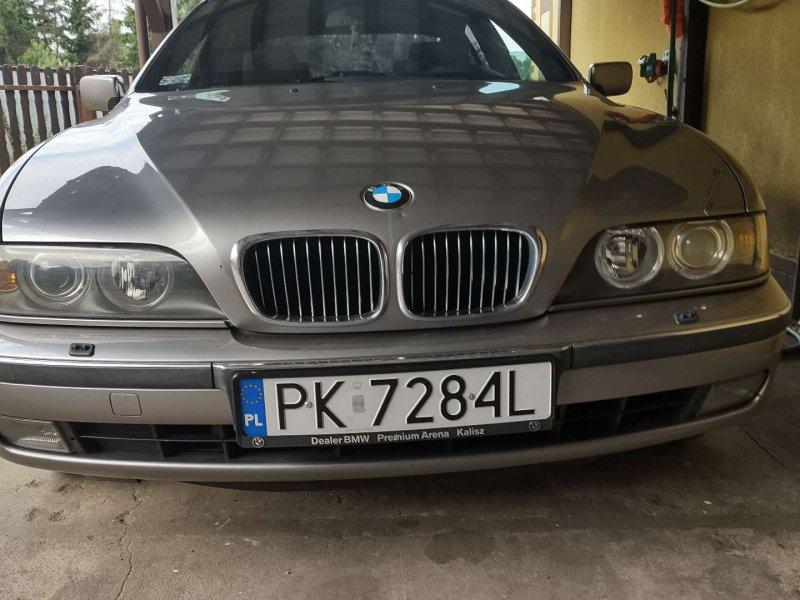 Sprzedam BMW 523i 2,5 LPG - Kalisz