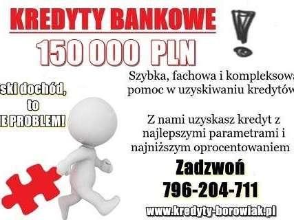 150 000 PLN dla FIRM z NISKIM DOCHODEM ! WARTO