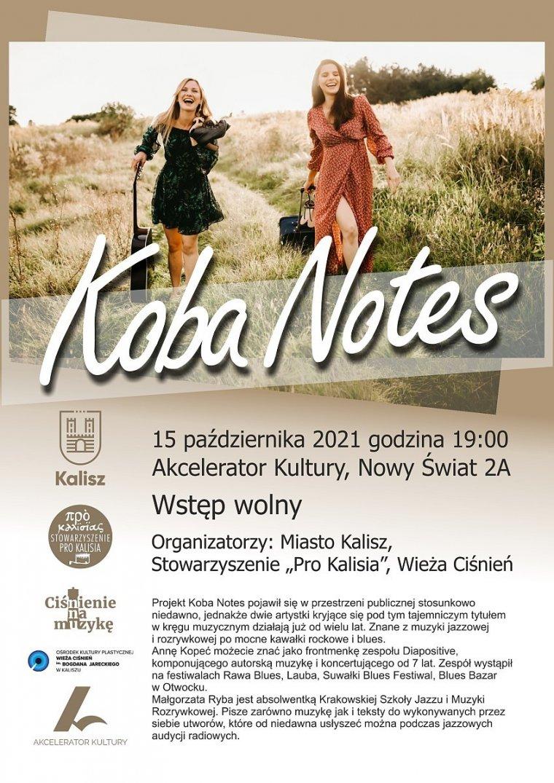 KOBA NOTES