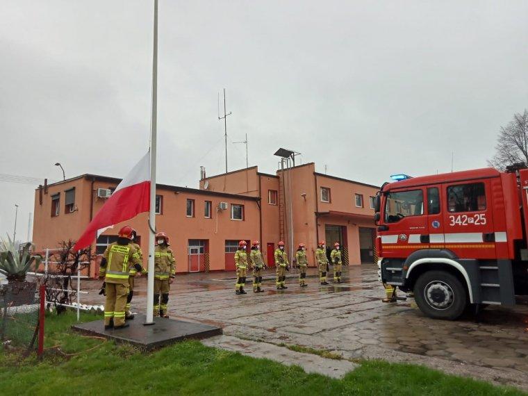 Zdjęcia: funkcjonariusze JRG 1 i JRG 2 w Kaliszu.
