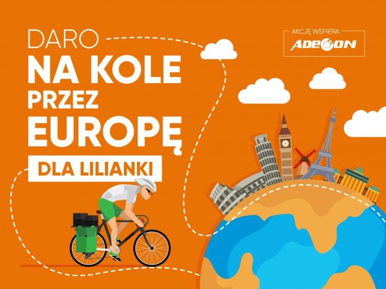 Na kole przez Europę dla Lilianki