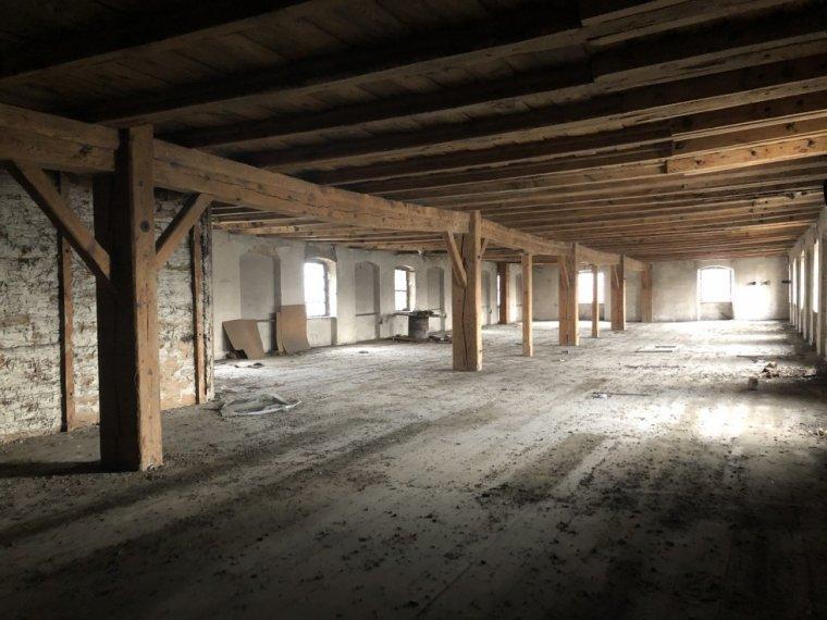 Zdjęcie sali przed remontem/fot. Marta Wolarz
