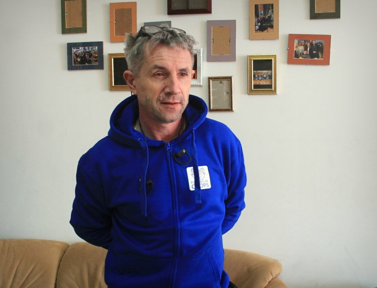 Roman Żarnecki - Prezes Fundacji CHOPS/ fot. Błażej Krawczyk