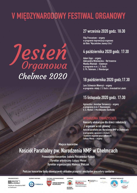Jesień organowa 2020
