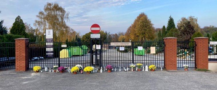 1 Listopada 2020r. na Cmentarzu Komunalnym w Kaliszu