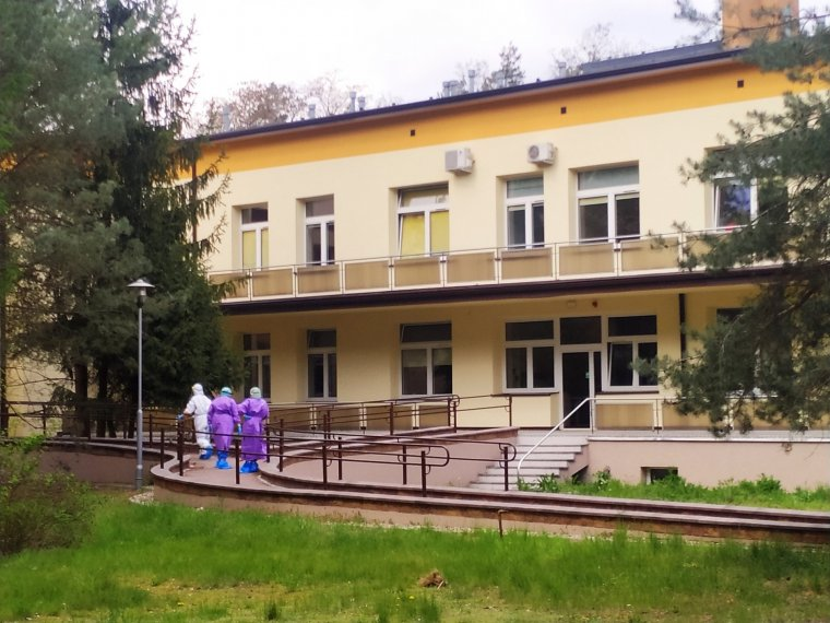 fot. Szpital jednoimienny w Wolicy