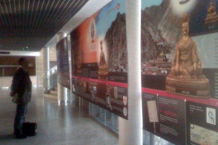 """Wystawa """"Budda w podróży..."""" w WPA UAM"""