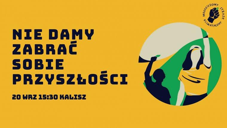 fot. fb/Protest Tysięcy Miast - Kalisz | Młodzieżowy Strajk Klimatyczny