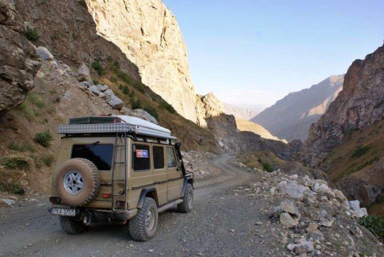 Samochodem do Azji Centralnej
