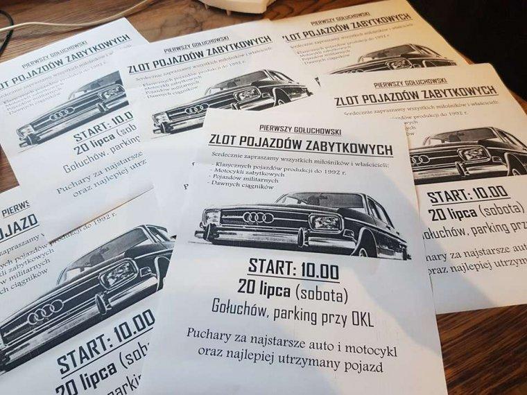 fot. fb/I Gołuchowski Zlot Pojazdów Zabytkowych